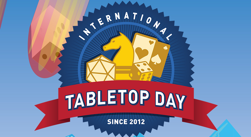 International Tabletop Day This Coming Saturday
